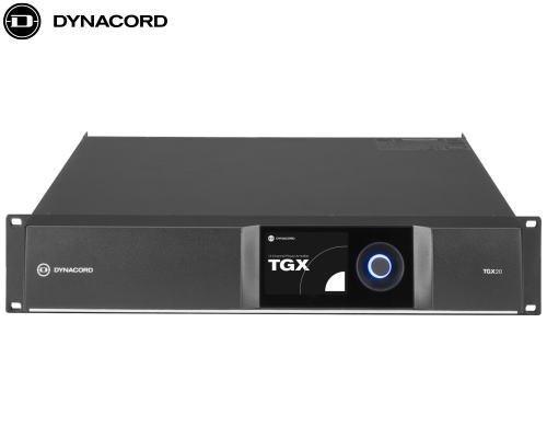 DYNACORD(ダイナコード)DSP搭載 4chパワーアンプ TGX20
