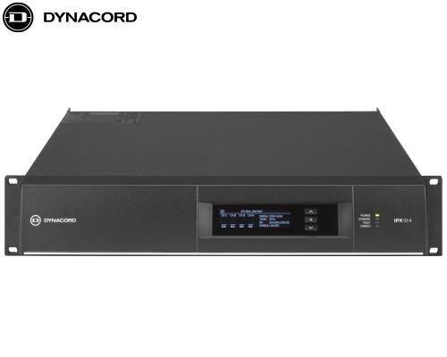 DYNACORD(ダイナコード)DSP搭載 4chパワーアンプ IPX10.4