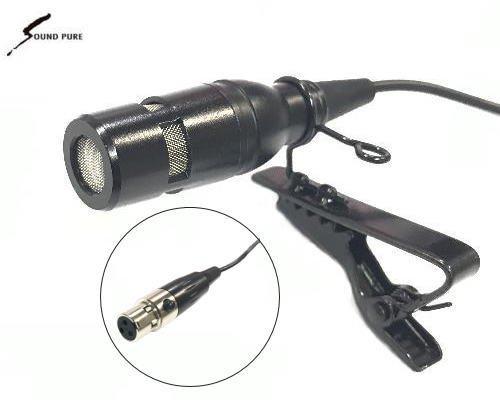 Soundpure(サウンドピュア) ボディパック型送信機8022e用 ラべリア・マイクロホン SP-PIN-BK01