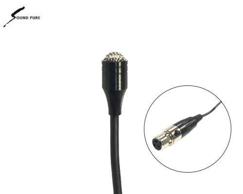 Soundpure(サウンドピュア) ボディパック型送信機8022e用 ラべリア・マイクロホン SP-OPIN-BK01S