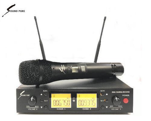 Soundpure(サウンドピュア) マイクロホン ワイヤレスセット B帯 SPWH01-112