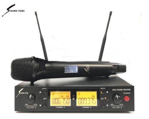 Soundpure(サウンドピュア) マイクロホン ワイヤレスセット B帯 SPWH01-11s