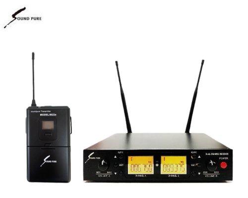 Soundpure(サウンドピュア) ボディパック型送信機(のみ) ワイヤレスセット B帯 SPWH01-22e