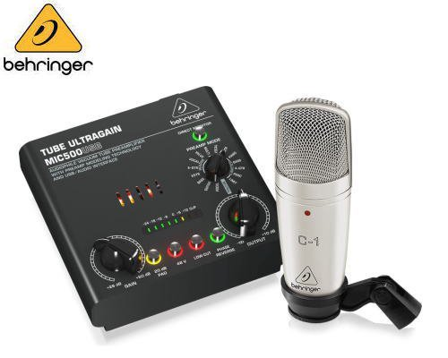 BEHRINGER(ベリンガー)レコーディングバンドルセット VOICE STUDIO※在庫限り
