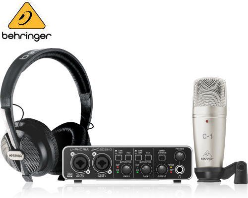 BEHRINGER(ベリンガー)コンプリート録音バンドルセット U-PHORIA STUDIO PRO