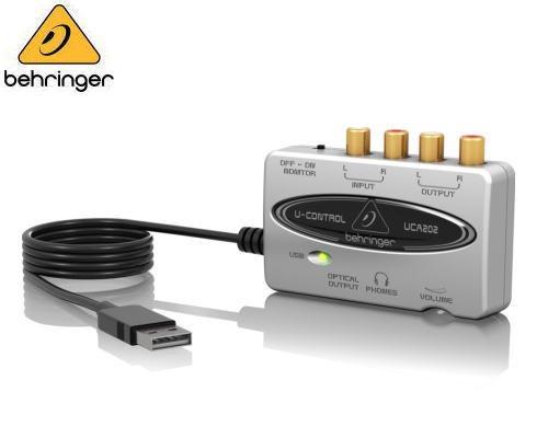 BEHRINGER(ベリンガー)USBオーディオインターフェース UCA202 U-CONTROL