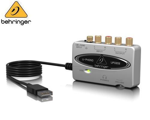 BEHRINGER(ベリンガー)USBオーディオインターフェース UFO202 U-PHONO※在庫限り