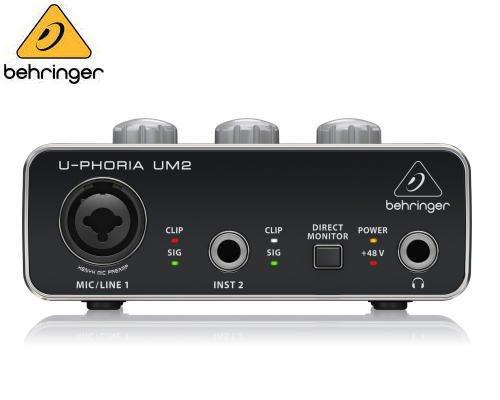 BEHRINGER(ベリンガー)USBオーディオインターフェース UM2 U-PHORIA