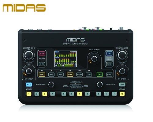 MIDAS(マイダス) パーソナルモニターミキサー DP48