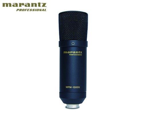 marantz professional(マランツプロフェッショナル)DAWレコーディング/スマホアプリ用USBコンデンサーマイクロホン MPM-1000UJ