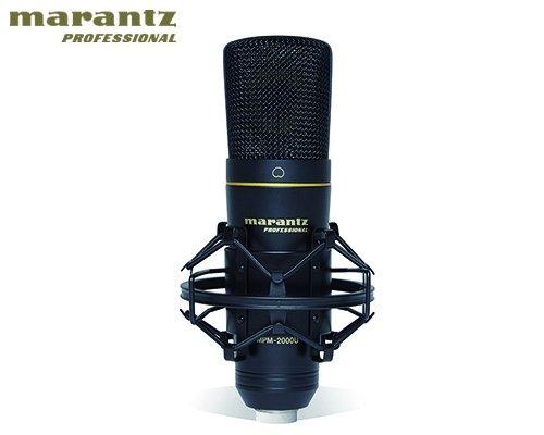 marantz professional(マランツプロフェッショナル)DAWレコーディング/スマホアプリ用USBコンデンサーマイクロホン MPM-2000UJ
