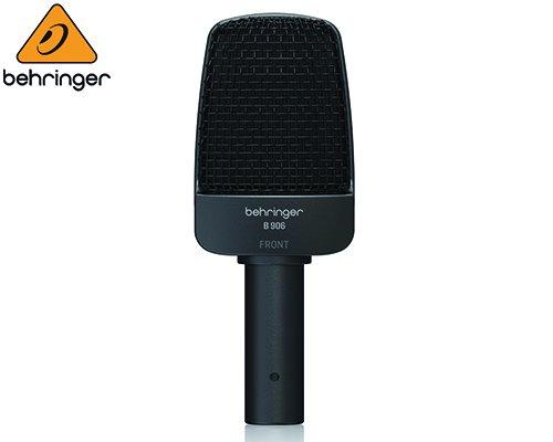 BEHRINGER(ベリンガー)楽器用ダイナミックマイクロホン B906※在庫限り