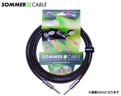 SOMMER CABLE 楽器用ケーブル SC-SPIRIT BLACKZILK SZSS-0300(3m/SS)