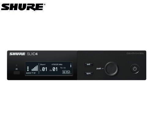SHURE デジタル・ダイバーシティ受信機(シングルモデル) B帯 SLXD4J-JB