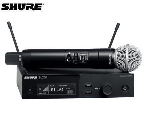 SHURE ハンドヘルドセット B帯 SLXD24J/SM58-JB
