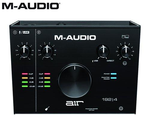 M-AUDIO(エムオーディオ)2in/2out USBオーディオインターフェイス AIR 192 | 4