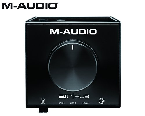 M-AUDIO(エムオーディオ)USBハブ搭載モニタリングインターフェイス AIR HUB