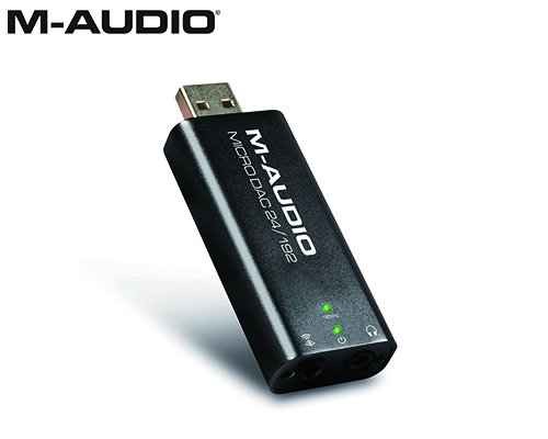 M-AUDIO(エムオーディオ)USBメモリタイプ デジタル to アナログ・コンバーター Micro DAC 24/192