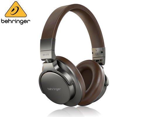 BEHRINGER(べリンガー) 密閉型スタジオ モニタリング プロフェッショナルヘッドホン BH 470