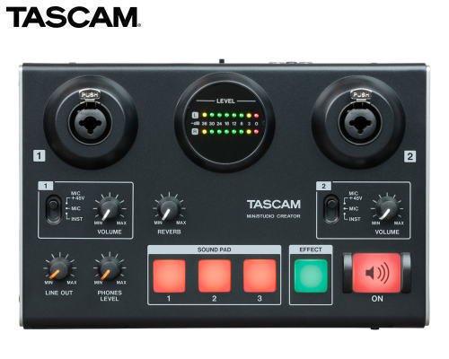 TASCAM USBオーディオインターフェース MiNiSTUDIO CREATOR US-42B