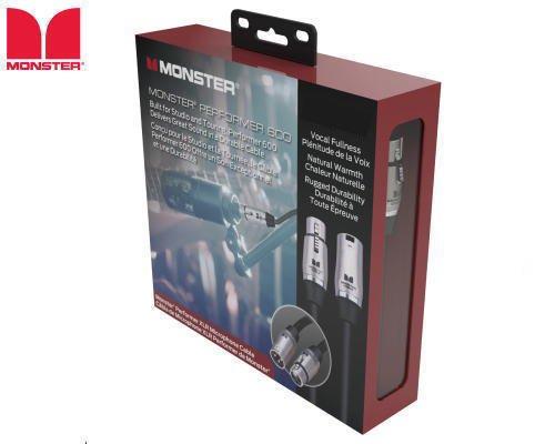 MONSTER CABLE(モンスターケーブル)P600-M-10 マイクケーブル(3m)