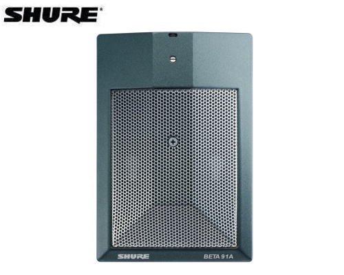 SHURE 低音楽器用バウンダリー・マイクロホン BETA 91A-X  正規輸入品