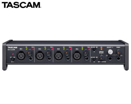 TASCAM USBオーディオ/MIDIインターフェース US-4x4HR