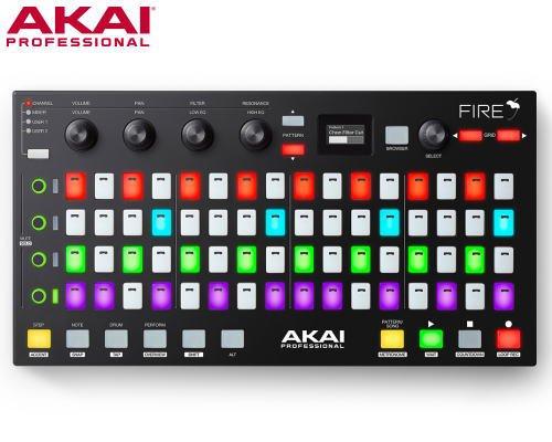 AKAI(アカイ)Fire (ソフトウェア付属)音楽制作ソフトFL Studio専用ハードウェアコントローラー