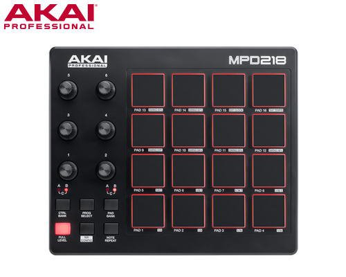 AKAI(アカイ)MPD218 USB / MIDIパッドコントローラー