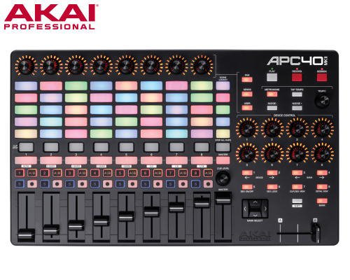 AKAI(アカイ)APC40 MKII Ableton Live専用パフォーマンスコントローラー