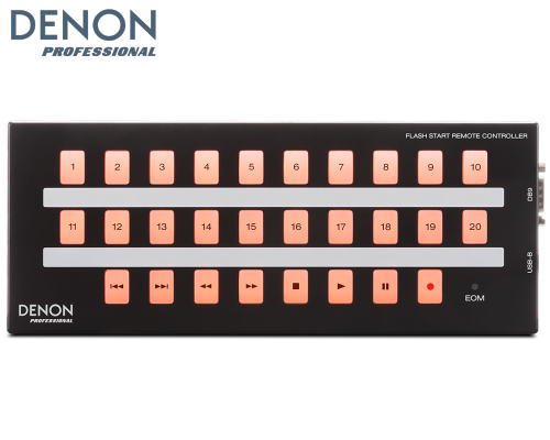 DENON RS-232C リモート・コントローラーFLASH START REMOTE