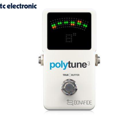 TC ELECTRONIC(ティーシーエレクトロニック)POLYTUNE 3 ポリフォニックチューナー