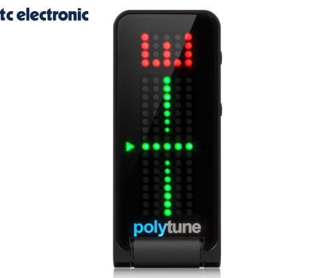 TC ELECTRONIC(ティーシーエレクトロニック)POLYTUNE CLIP BLACK クリップチューナー