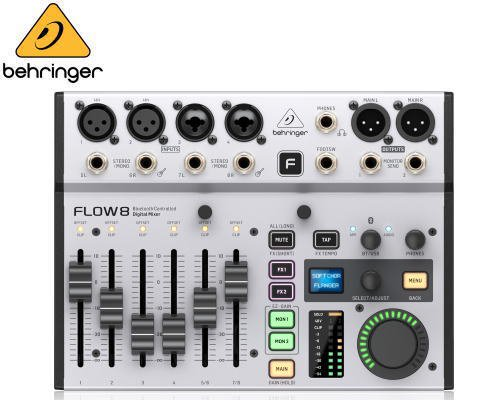 BEHRINGER(ベリンガー)FLOW 8 デジタルミキサー※在庫限り