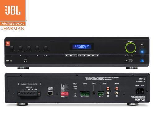 JBL(ジェービーエル) VMA 160 ミキサー/メディアプレイヤー内蔵パワーアンプ(2Uサイズ)
