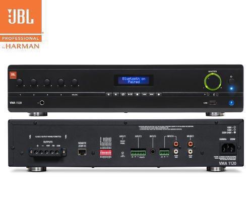 JBL(ジェービーエル) VMA 1120 ミキサー/メディアプレイヤー内蔵パワーアンプ(2Uサイズ)