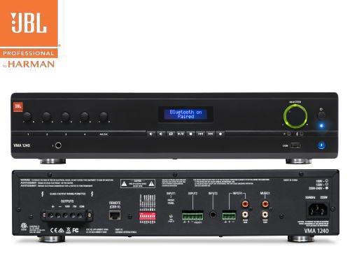 JBL(ジェービーエル) VMA 1240 ミキサー/メディアプレイヤー内蔵パワーアンプ(2Uサイズ)