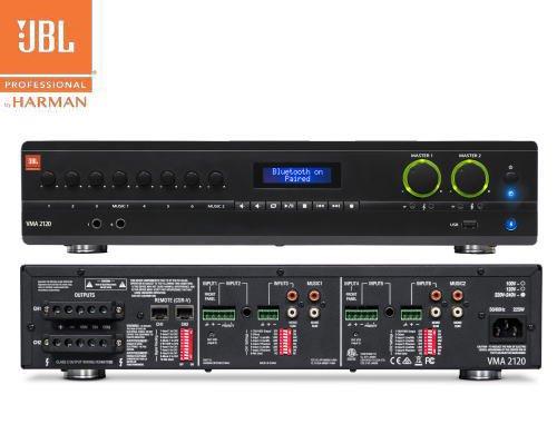 JBL(ジェービーエル) VMA 2120 ミキサー/メディアプレイヤー内蔵パワーアンプ(2Uサイズ)