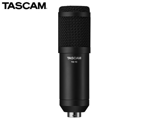 TASCAM インターネット配信用ダイナミックマイクロホン TM-70