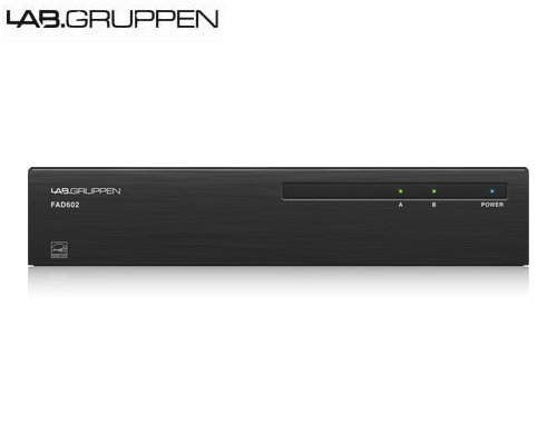 LAB.GRUPPEN(ラブグルッペン) FAD602 設備用2chパワーアンプ Dante入力モデル