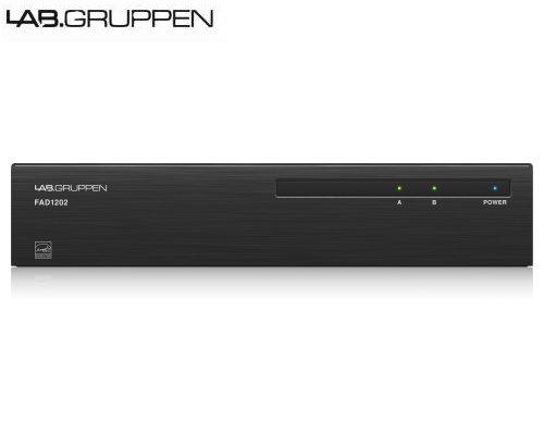 LAB.GRUPPEN(ラブグルッペン) FAD1202 設備用2chパワーアンプ Dante入力モデル