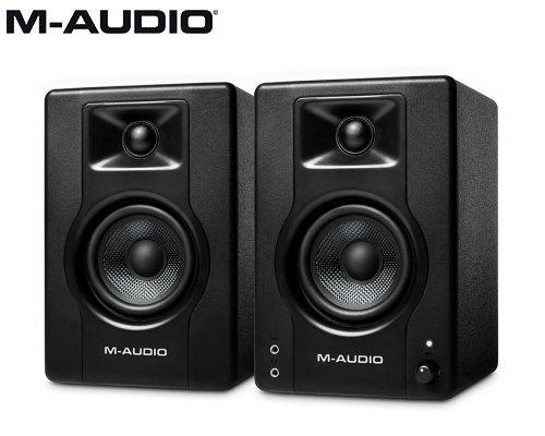 M-AUDIO(エムオーディオ)3.5インチ 120W デスクトップ/モニタリング パワード・スピーカー BX3