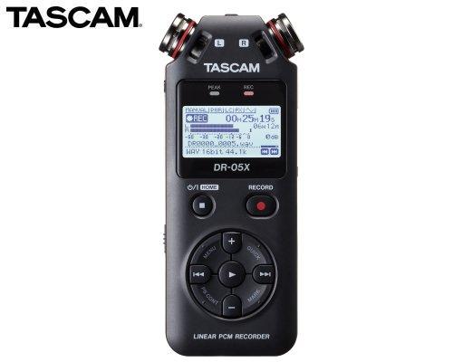 TASCAM ステレオオーディオレコーダー/USBオーディオインターフェース DR-05X