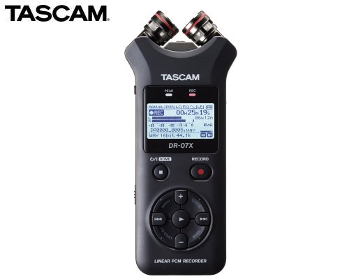 TASCAM ステレオオーディオレコーダー/USBオーディオインターフェース DR-07X