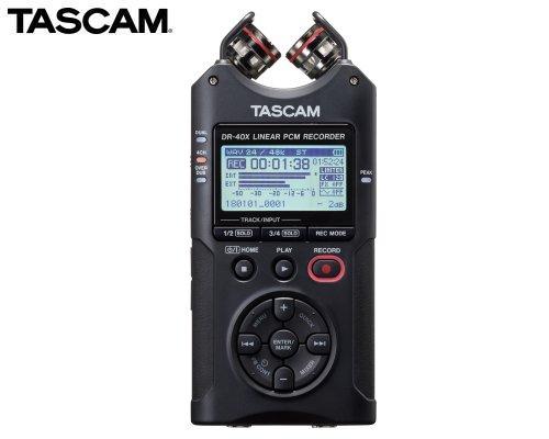 TASCAM 4トラックデジタルオーディオレコーダー/USBオーディオインターフェース DR-40X