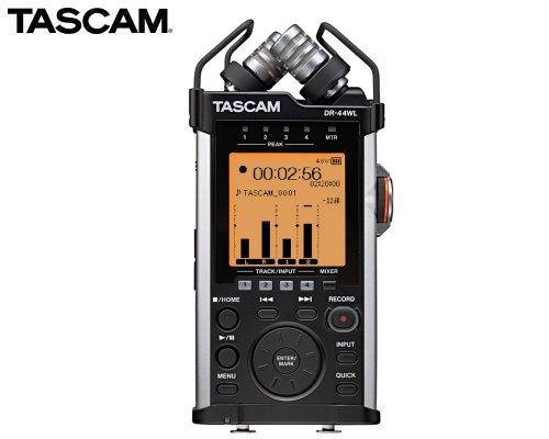 TASCAM Wi-Fi接続対応 リニアPCMレコーダー DR-44WL