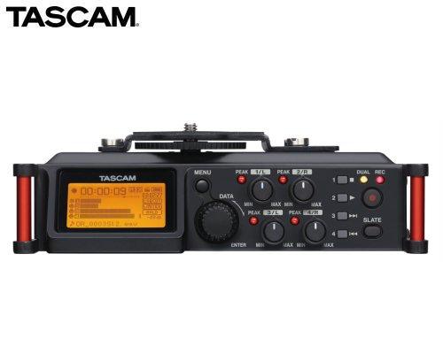 TASCAM カメラ用リニアPCMレコーダー/ミキサー DR-70D
