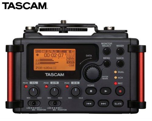 TASCAM カメラ用リニアPCMレコーダー/ミキサー DR-60DMKII