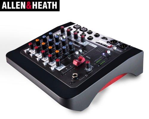 ALLEN&HEATH(A&H)/アレン&ヒース(アレヒ) アナログミキサー(USBインターフェース搭載) ZEDi-8