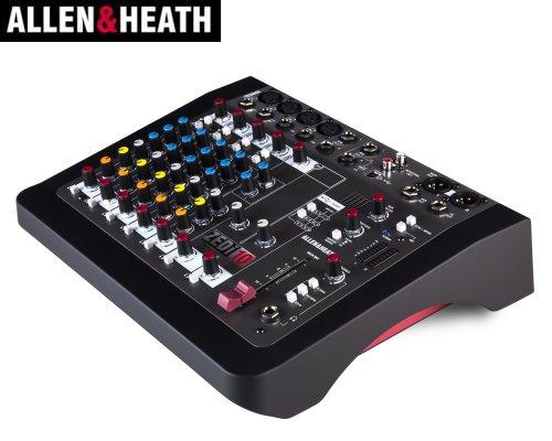ALLEN&HEATH(A&H)/アレン&ヒース(アレヒ) アナログミキサー(USBインターフェース搭載) ZEDi-10